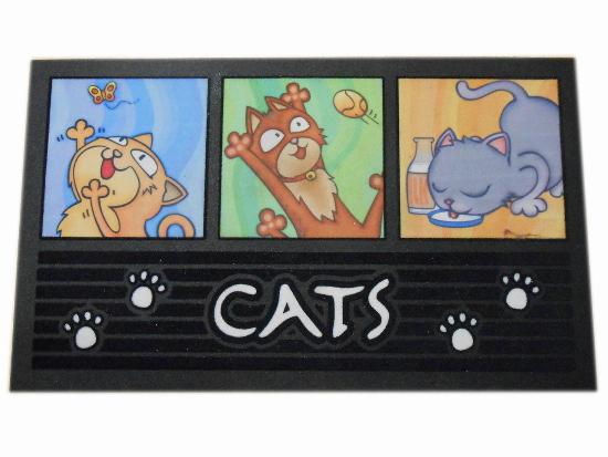 Cats Felpudos online