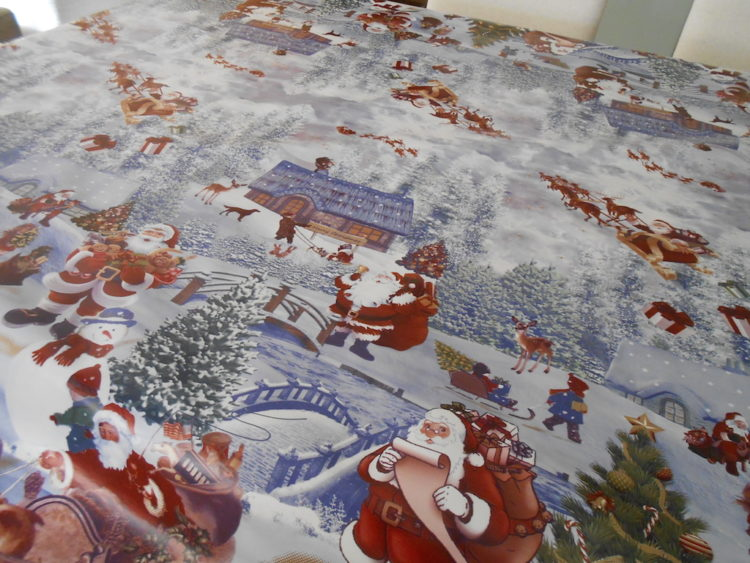 hules de navidad