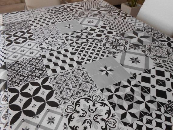 Mantel mesa cocina de Hule