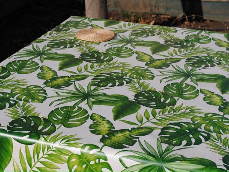 Hules decoración tropical - Tienda de Manteles y Hules Online