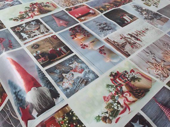 Hules para mesa Navidad